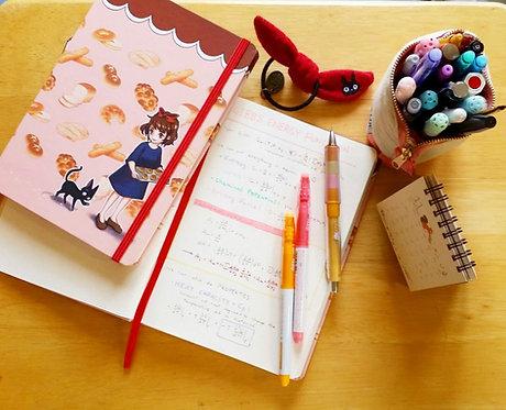 Kiki's Delivery Service Bakery Notebook