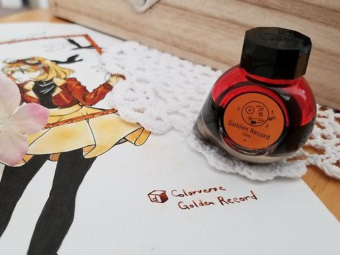 "Colorverse Voyager ""Golden Record"" Ink Sample"