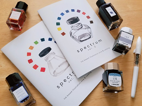 Spectrum - ink illustration & catalog