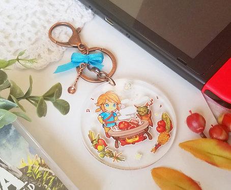 Botw Link's kitchen Keychain