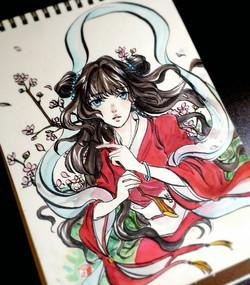 Original (ink & Marker)