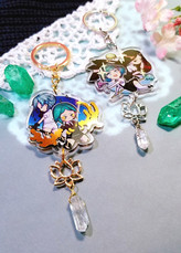Land of The Lustrous Transluscent Keychains