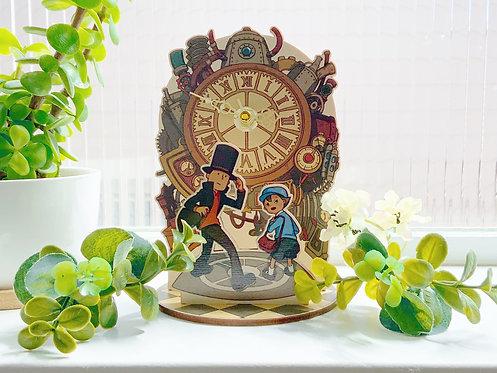 PL 3 Time Machine Miniature Clock