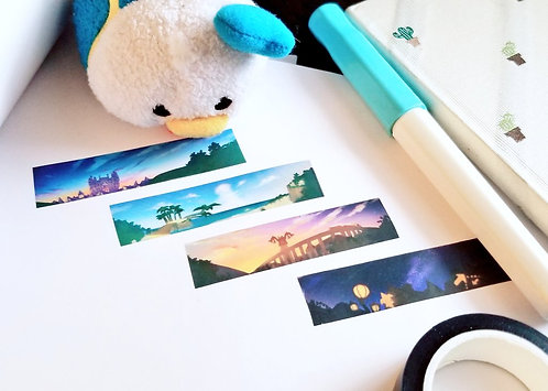 Skies of Kingdom Hearts Clear Scotch Tape