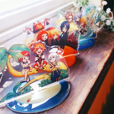 KH Trios Acrylic Standees