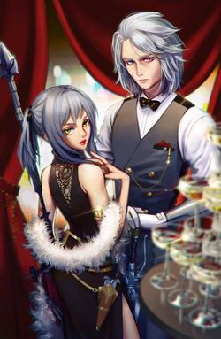 FFXV: Ravus and Aranea