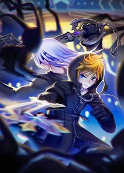 Roxas and Riku (Kingdom Hearts)