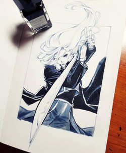 Olivier Armstrong (FMA, Ink)