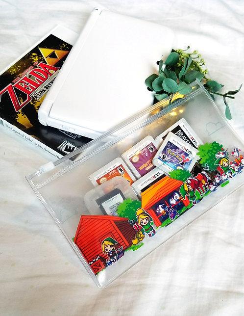 Legend of Zelda Lonlon Ranch clear pouch