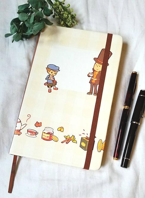 Professor Layton Notebook