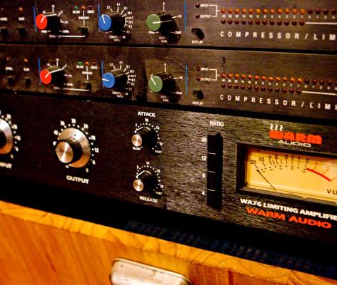 Warm Audio 1176 and DBX Compressors