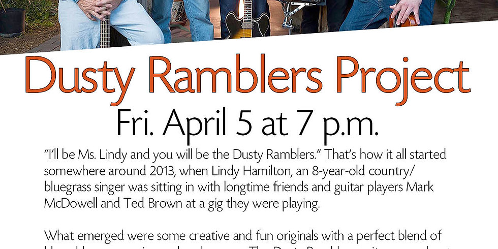 The Dusty Ramblers Project Rock the Tempe History Museum