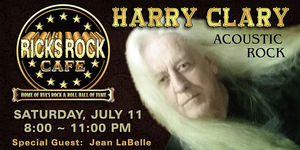 Harry Clary at Ricks Rock Cafe