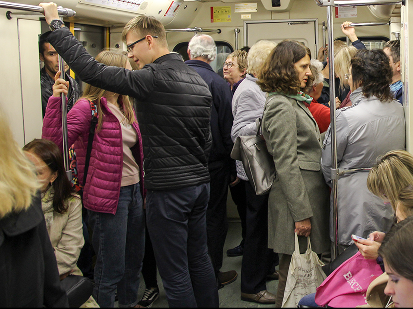 Travelling On the Moscow Metro
