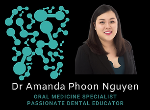 Amanda Phoon Nguyen Perth Australia Oral Medicine Specialist Podcast