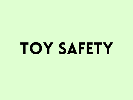 Toy Safety: The Basics