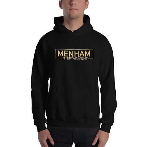 Menham Entertainment Gold Apparel Hoodie