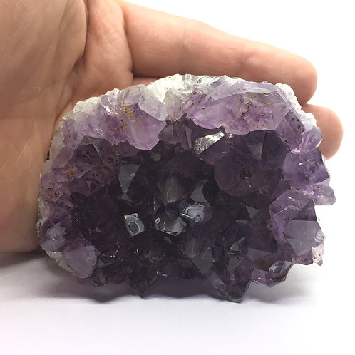Amethyst Clusters from Uruguay -350 Grams