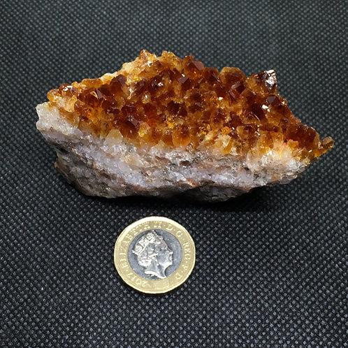 Citrine Crystal Clusters - 120 grams