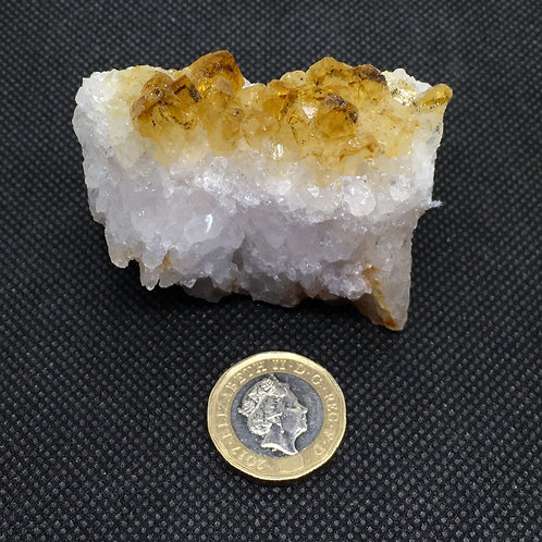 Citrine Crystal Clusters - 133 grams