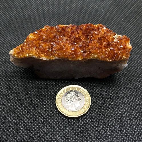 Citrine Crystal Clusters - 115 grams