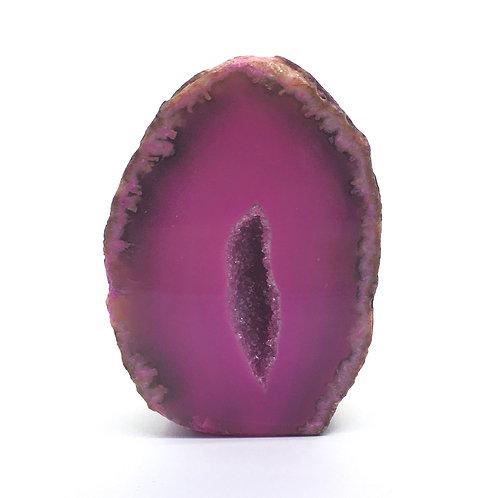 Pink Agate Geode 97 grams