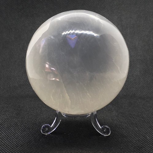 Selenite Sphere 80mm Diameter