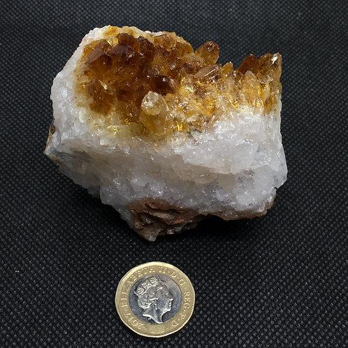 Citrine Crystal Clusters - 250 Grams