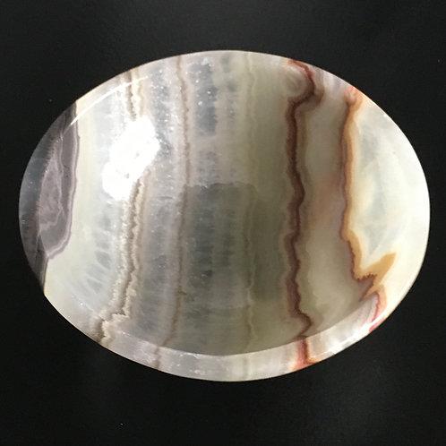 Aragonite Round Crystal Bowl