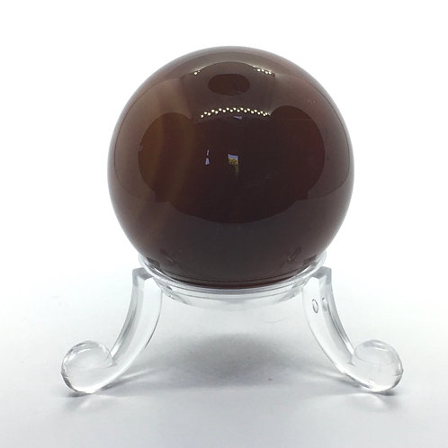 Carnelian - C- 40 mm Crystal Sphere with Free Stand