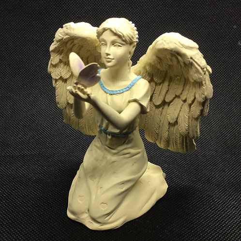 Platinum Angel Figurine - Butterfly Dreams