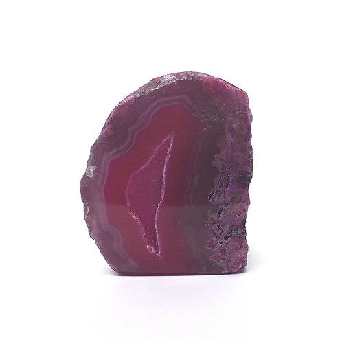 Pink Agate Geode 43  grams - 40 mm