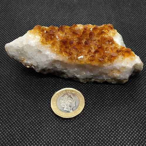Citrine Crystal Clusters - 155 grams (B)