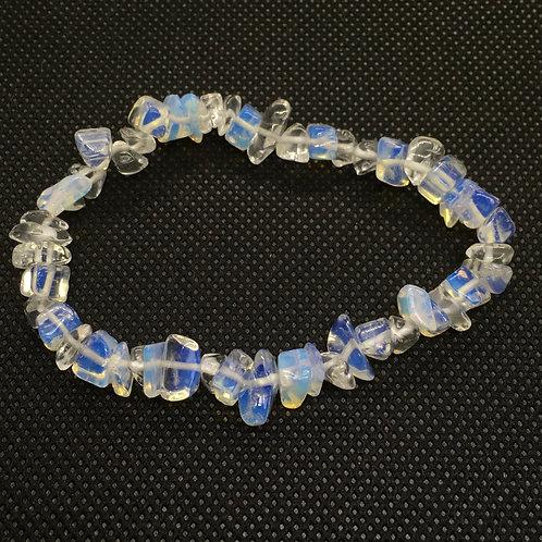 Opalite Crystal Chip Bracelet