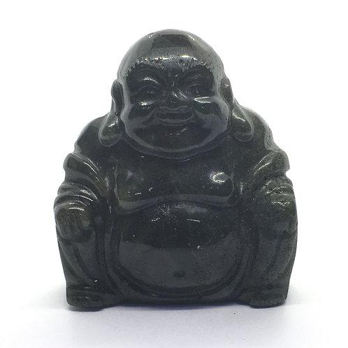 Bloodstone Crystal Buddha