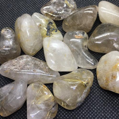 Quartz Rutilated Tumblestones