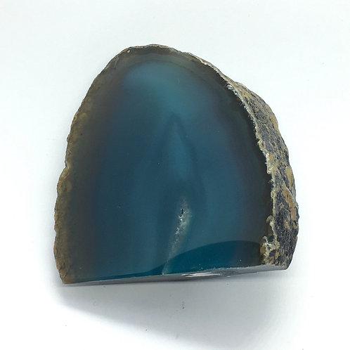 Teal Agate Geode 189g