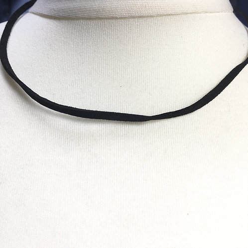 Leather Cord with Sterling Silver Clasp