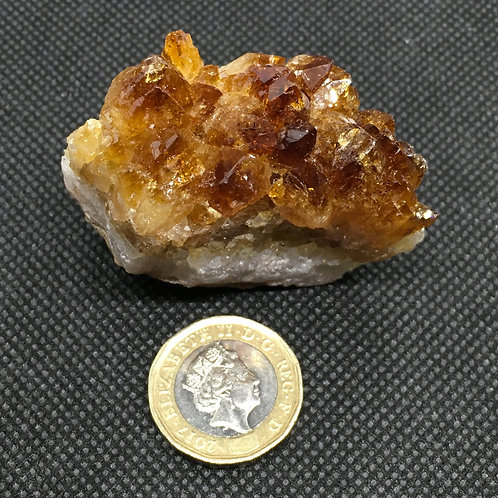 Citrine Crystal Clusters - 66 grams (B)