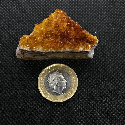 Citrine Crystal Clusters - 30 grams