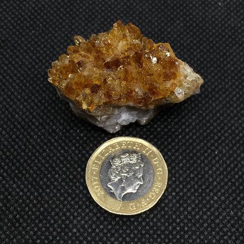 Citrine Crystal Clusters - 33 grams