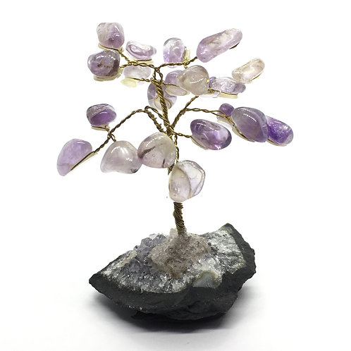 Amethyst Gem Crystal Trees -Small