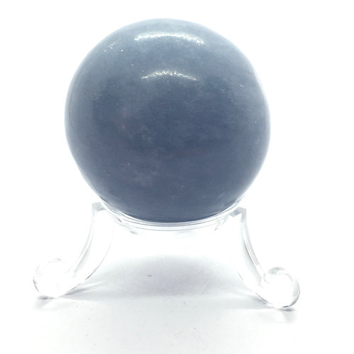 Angelite Spheres in 2 Sizes