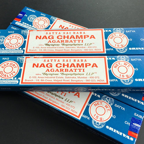 Nag Champ Agarbatti Incense Sticks 12 Pack