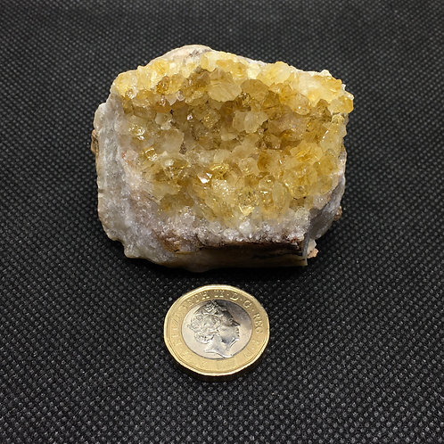 Citrine Crystal Clusters - 155 grams (A)