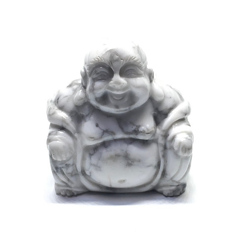 Howlite Crystal Buddha