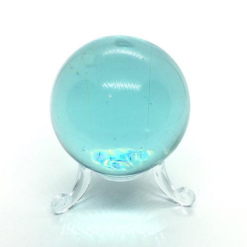 Blue Glass Obsidian 50 mm Sphere