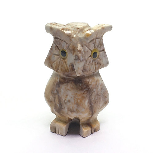 Soapstone Owls