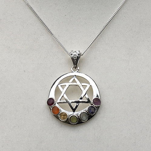 Chakra Pendants- Moon, Anhk or Moon & Star.