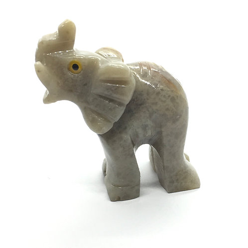 Soapstone Elephants